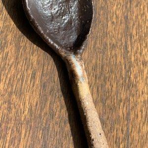 small ceramic spoon