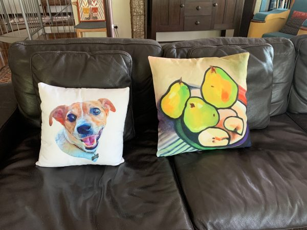 funky throw pillows